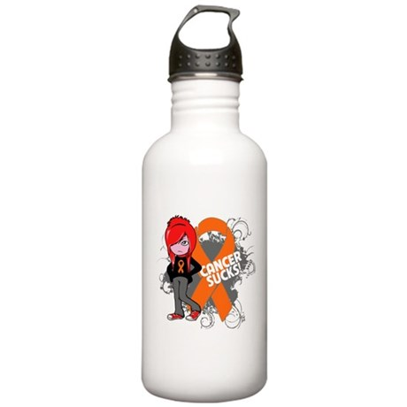 Kidney CANCER SUCKS Stainless Water Bottle 1.0L