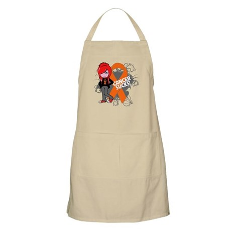 Kidney CANCER SUCKS Apron