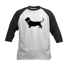 Basset Hound Breast Cancer Support Tee