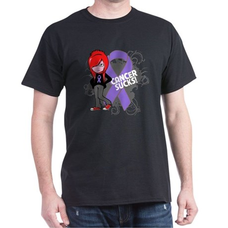 Hodgkins Lymphoma Sucks Dark T-Shirt
