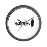 Nighttown Wall Clock