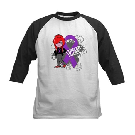 GIST CANCER SUCKS Kids Baseball Jersey