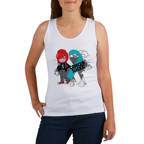 Cervical CANCER SUCKS Women's Tank Top
