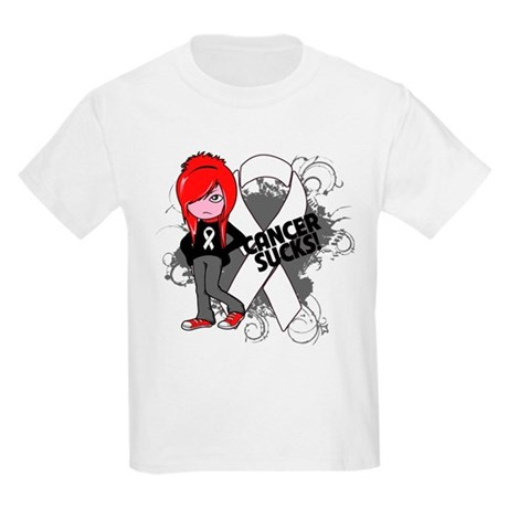 Bone CANCER SUCKS Kids Light T-Shirt