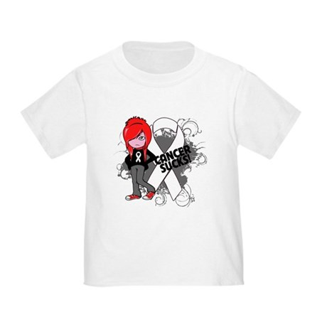 Bone CANCER SUCKS Toddler T-Shirt