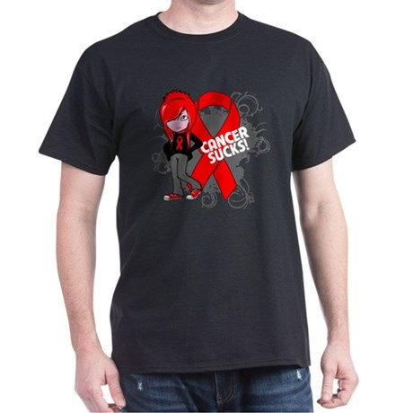 Blood CANCER SUCKS Dark T-Shirt