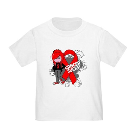 Blood CANCER SUCKS Toddler T-Shirt