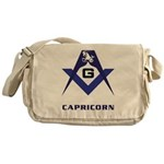 Masonic Capricorn Sign Messenger Bag