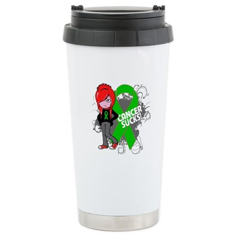 Bile Duct CANCER SUCKS Ceramic Travel Mug
