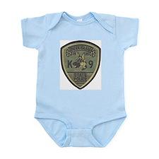 RI State Police K9 Infant Creeper