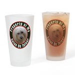 Coton De Tulear Drinking Glass