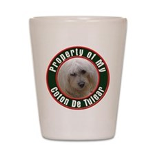 Coton De Tulear Shot Glass