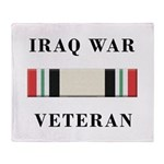 Iraq War Veterans Throw Blanket