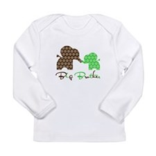 Funny Big bro Long Sleeve Infant T-Shirt