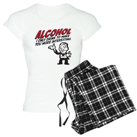 Alcohol Women's Light Pajamas