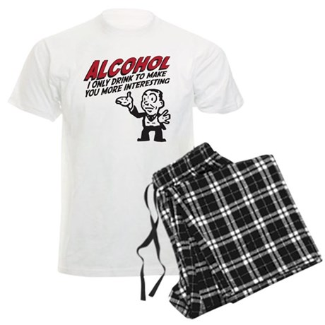 Alcohol Men's Light Pajamas