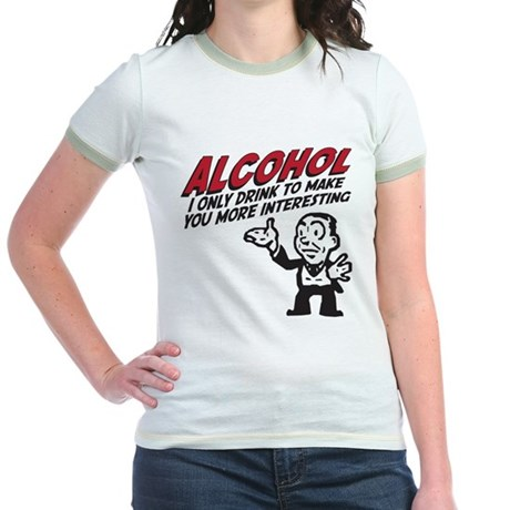 Alcohol Jr. Ringer T-Shirt