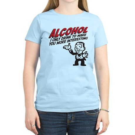 Alcohol Women's Light T-Shirt