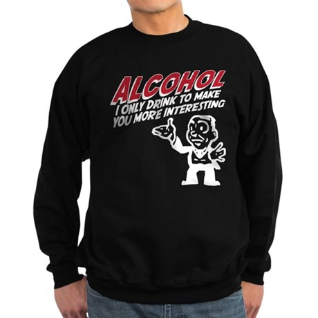 Alcohol Sweatshirt (dark)