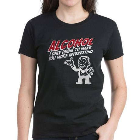 Alcohol Women's Dark T-Shirt