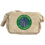 Wind Power Messenger Bag