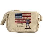 Press one Messenger Bag