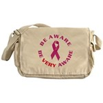 Breast Cancer Awareness Messenger Bag