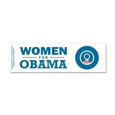 Women for Obama Car Magnet 10 x 3