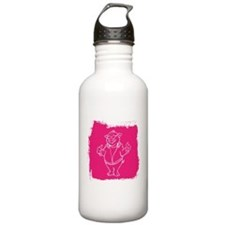 Cool Cartoon Pig Water Bottle