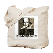 Shakespeare Portrait Tote Bag