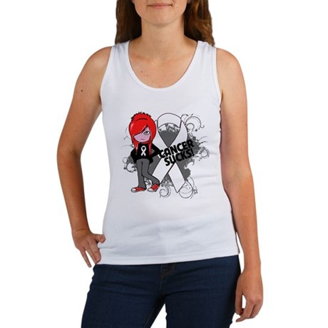 Retinoblastoma CANCER SUCKS Women's Tank Top