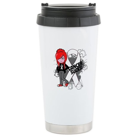 Retinoblastoma CANCER SUCKS Ceramic Travel Mug