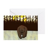 The Bear Greeting Card