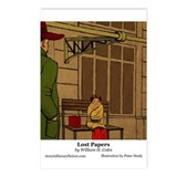 Lost Papers Postcards (Package of 8)