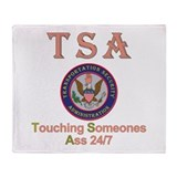 TSA Throw Blanket