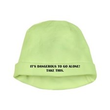 Dangerous To Go Alone baby hat