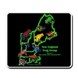 New England Frog Group Mousepad