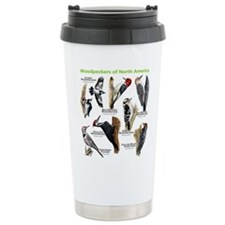 Woodpeckers of North America Ceramic Travel Mug