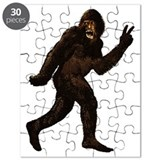 Bigfoot Yeti Sasquatch Peace Puzzle