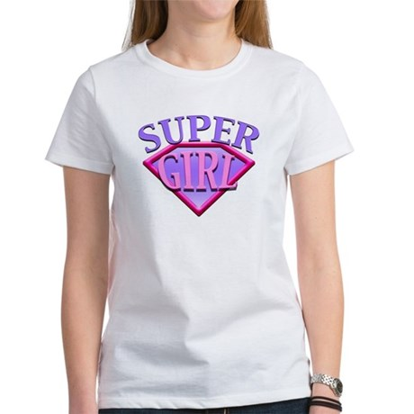 Super Girl (Pink) Women's T-Shirt
