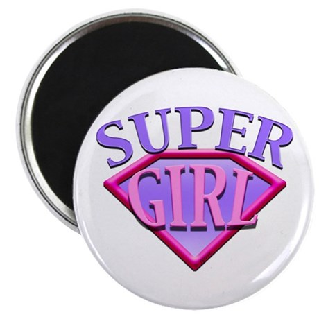 Super Girl (Pink) Magnet