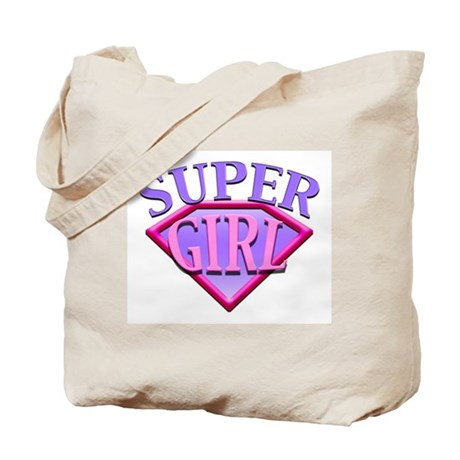 Super Girl (Pink) Tote Bag