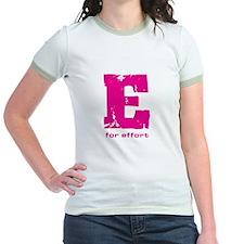 E for Effort Pink T