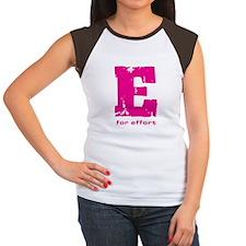 E for Effort Pink Tee