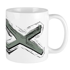 Grey Fish - Ichthys - Christ Mug