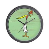 Cow and Chicken Wall Clock