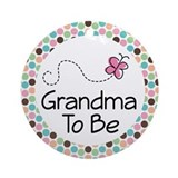 Grandma To Be Ornament Gift