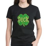 feck shamrock Women's Dark T-Shirt