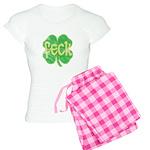feck shamrock (faded) Women's Light Pajamas