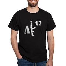 AK 47 (white) T-Shirt